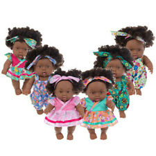 11.1''Baby Movable Joint African Doll Toy Black Doll Best Gift Toy Christmas Toy