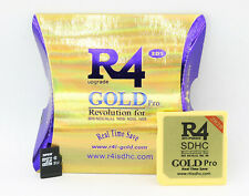 R4 gold pro nds ds 3ds revolution 2ds + sd card 32go installed kernel fr