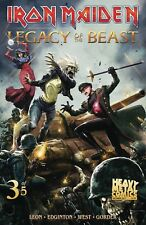 IRON MAIDEN LEGACY OF THE BEAST #3 (OF 5) CVR A CASAS (MR) PRE ORDER  2/28/18