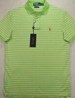 Polo Ralph Lauren Pima Interlock Soft Touch Stripe Shirt Size S SMALL New