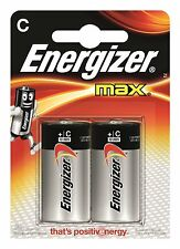 Energizer Max C Battery 2 Pack High Power