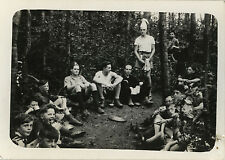 PHOTO ANCIENNE - VINTAGE SNAPSHOT - SCOUT SCOUTISME GROUPE - BOY SCOUT 1946 17