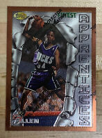 Ray Allen 1996-97 Topps Finest Rookie RC Card #22 w/ Coating - Get It Graded! 🔥