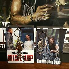 Rise Up/Daryl Dixon COLLECTORS Negan Lucille Bat **Key Chain Set** ~~***NEW***