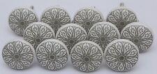 Grey and White Handmade Ceramic Cupboard Door Knobs Kitchen Knob Lot of 14