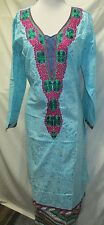 new design beautiful embroidery silk cotton salwar  kameez Size XL 48
