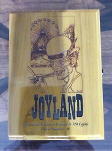 Joyland Signed Limited Custom Timber Traycase Stephen King Rare