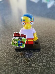Lego 71005 The Simpsons Milhouse Van Houten Byclops Minifig Minifigure Series 1