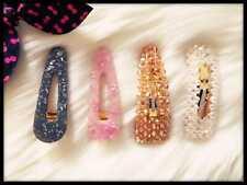 4 stück Kristall Haarspangen,Clip Haarschmuck Haarnadeln.