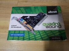 ULTRON 4-Kanal PCI Soundkarte