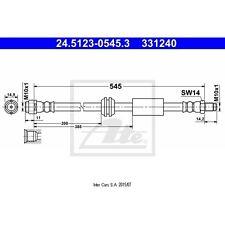 Bremsschlauch ATE 24.5123-0545.3
