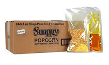 Popcorn Machine supplies Snap Paks Canola Oil for 4 oz