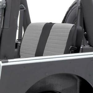 Smittybilt XRC Rear Seat Cover For 2007 Jeep Wrangler Unlimited 4 Door 758111