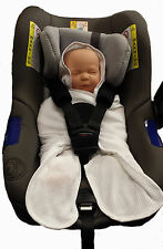 Prince Lionheart Wrap A Bye Baby Car Seat, Pushchair, lightweight Summer Travel