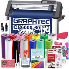 Graphtec PLUS Deluxe CE6000-60 24 Inch Vinyl Cutter with Software