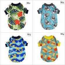 Fitwarm Summer Adorable Dog Tee Shirt Soft Pet Clothes Tank Jumper Cat Aapprel