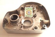 GEARBOX COVER : POLISHED EDGES. SUITABLE FOR ROYAL ENFIELD BULLET 4 SPEED 350cc