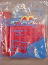 2018 McDonalds Happy Meal Toy Hasbro Gaming #1 CONNECT 4 New Package