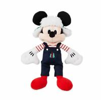 Disney Parks Mickey Mouse Holiday Christmas Plush – Mini Bean Bag – 9'' New ~NWT