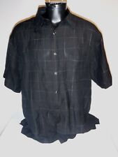 #8213 PERRY ELLIS SS CASUAL SHIRT MEN'S XLARGE PREOWNED