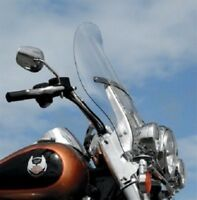 "Klock Werks Clear 20"" Flare Windshield 94-17 FLHR Road King 12-16 FLD Switchback"