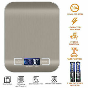 Digital Electronic Kitchen Food Diet Postal Scale Weight Balance 5KG / 1g 22lb