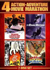 4 Movie Marathon: Action-Adventure [New DVD] Full Frame, 2 Pack