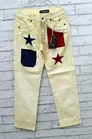 Pantaloni Da Bimbo Jeckerson Taglia 8 Anni Jeans Ragazzo Pantalon Kids Elastico