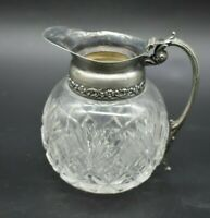 "Hawkes American Brilliant Period ABP St Regis 4 1/2"" Handled Syrup Pitcher"