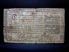 Colonial Currency ✪ Maryland April 10Th 1774 ✪ Fr Md-61 $1/6 9D ◢Trusted◣