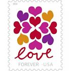 100 Hearts Blossom Love 5 Sheets Of 20 Postage Free Shipping