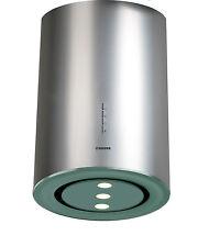 Inselhaube 40cm NODOR  Edelstahl LED Lampen 1000m³/h Dunstabzugshaube Turbostufe