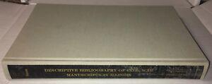 Descriptive Bibliography Of CIVIL WAR Manuscripts In Illinois HCBook 1966 Burton