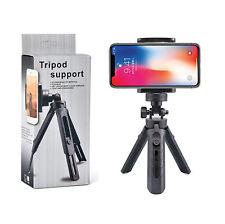 Mini Desktop Tripod Support Rotation Foldable Bracket Stand Holder Phone Camera