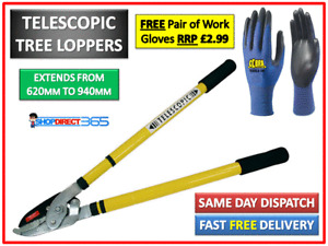 Telescopic Tree Lopper Anvil Garden Lever Action Ratchet Cutter Pruning (CT3461)