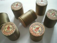 mercerie ancienne - 1  bobine de soie A LA PAGODE CHINOISE