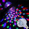 6W LED Double-headed Rotating Bulb Stage Light Bulb Crystal Ball Disco Lamp