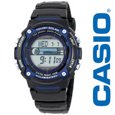 Casio Men WS210H-1AVCF Tough Solar Powered Tide and Moon Black Digital Watch