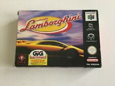 N64 NINTENDO 64 AUTOMOBILI LAMBORGHINI   PAL  MULTILANGUAGE BOX NEW IN BOX NIB