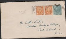 CANADA 160 Coil pair uprated on p/stny Sherbrooke 1935