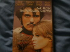 FAR FROM THE MADDING CROWD DVD, TERENCE STAMP, JULIE CHRISTIE ALAN BATES P FINCH