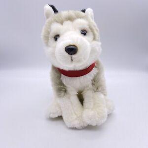 FAO Schwartz Adopt A Pet Husky Plush Dog Stuffed Animal NWT Heterochromic Eyes