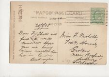 Miss F Nicholls Fox And Hounds Groton Boxford 1908 524b