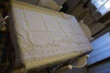 Striscia x mobile fiandra cotone intarsi di pizzo cm. 138x54  B18 (1) ^