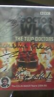 Doctor Who - The Two Doctors SIGNED AUTOGRAPH Jacqueline Pearce - Chessene + 3
