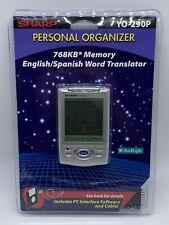 Sharp Yo-290P Personal Organizer - Phone, Language Translator, Calendar, Vintage
