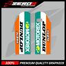 KTM SX/SXF 2000-2007 EXC 1998-2007 LOWER FORK MOTOCROSS GRAPHICS MOTOREX ORANGE