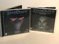 StarCraft & Brood War Expansion PC/CD Game | Blizzard Entertainment