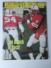 Huskers Illustrated Nebraska November 23, 1985 CLAYTON McCATHORN on cover