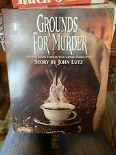 NEW! Bepuzzled Grounds For Murder Mystery Jigsaw w/ Secret Puzzle Image